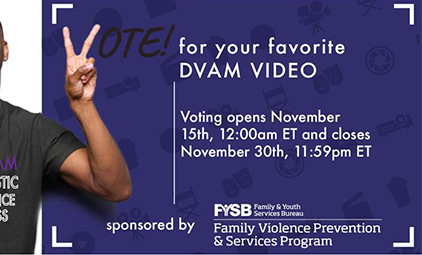 Vote for your favorite DVAM video