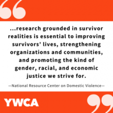 ...research grounded in survivor realities is essential.