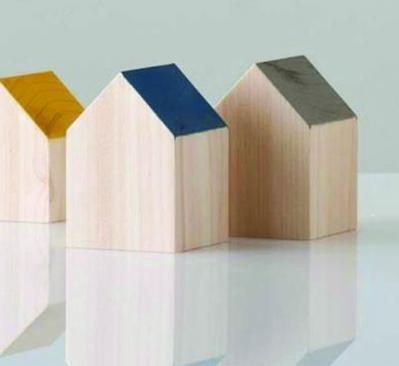 wooden house blocks