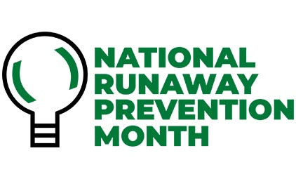 National Runaway Prevention Month