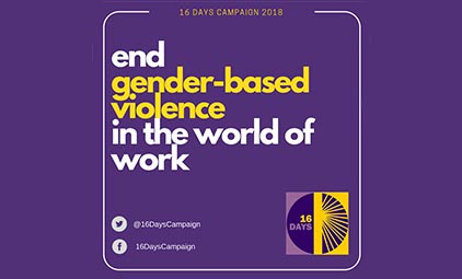 end gender-based violence in the world of work