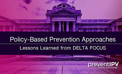 Policy-Based Prevention Approaches: Lessons Learned from DELTA FOCUS