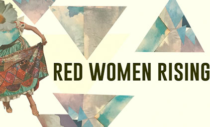 Red Women Rising logo