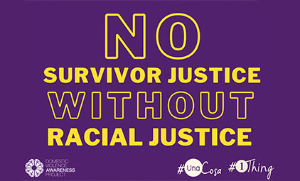 No survivor justice without racial justice