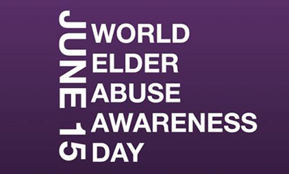 June 15 World Elder Abuse Awareness Day