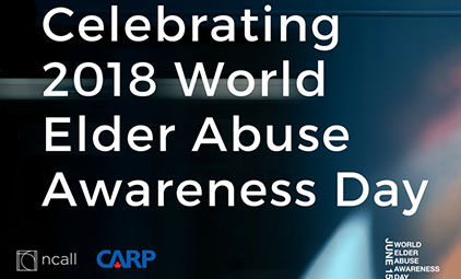 Celebrating 2018 World Elder Abuse Awareness Day