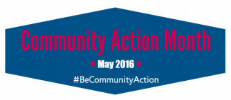 community action month logo