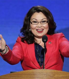 Democratic Rep. Tammy Duckworth of Illinois