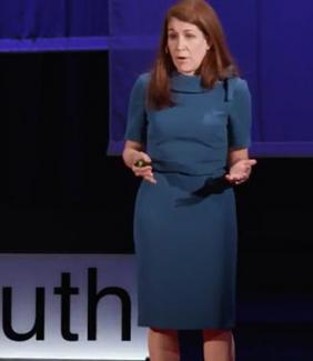 Dr. Sharyn J. Potter delivering a TEDx Talk