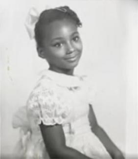 Sherry Johnson as a child