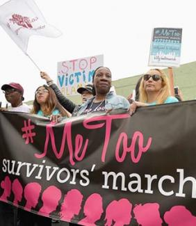 #MeToo survivors' march