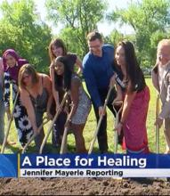 activists break ground at new survivor memorial in Minneapolis