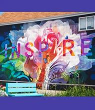 mural that says Inspire