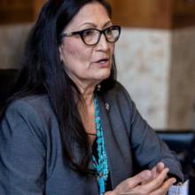 secretary of the interior, Deb Haaland