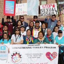 members of Navajo nation organizing to end sexual violence